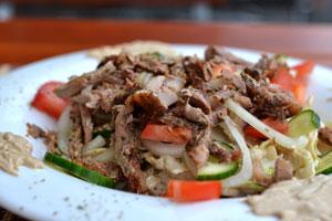 Gyros Salat